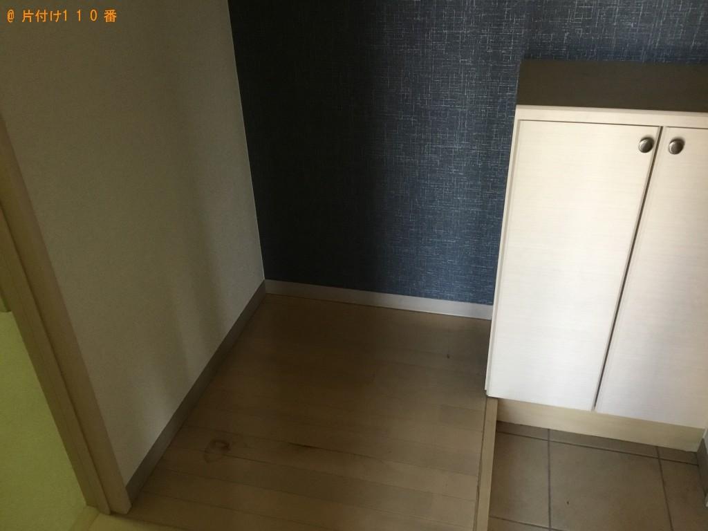 【長崎市】冷蔵庫、洗濯機、本棚、食器棚等の回収・処分ご依頼