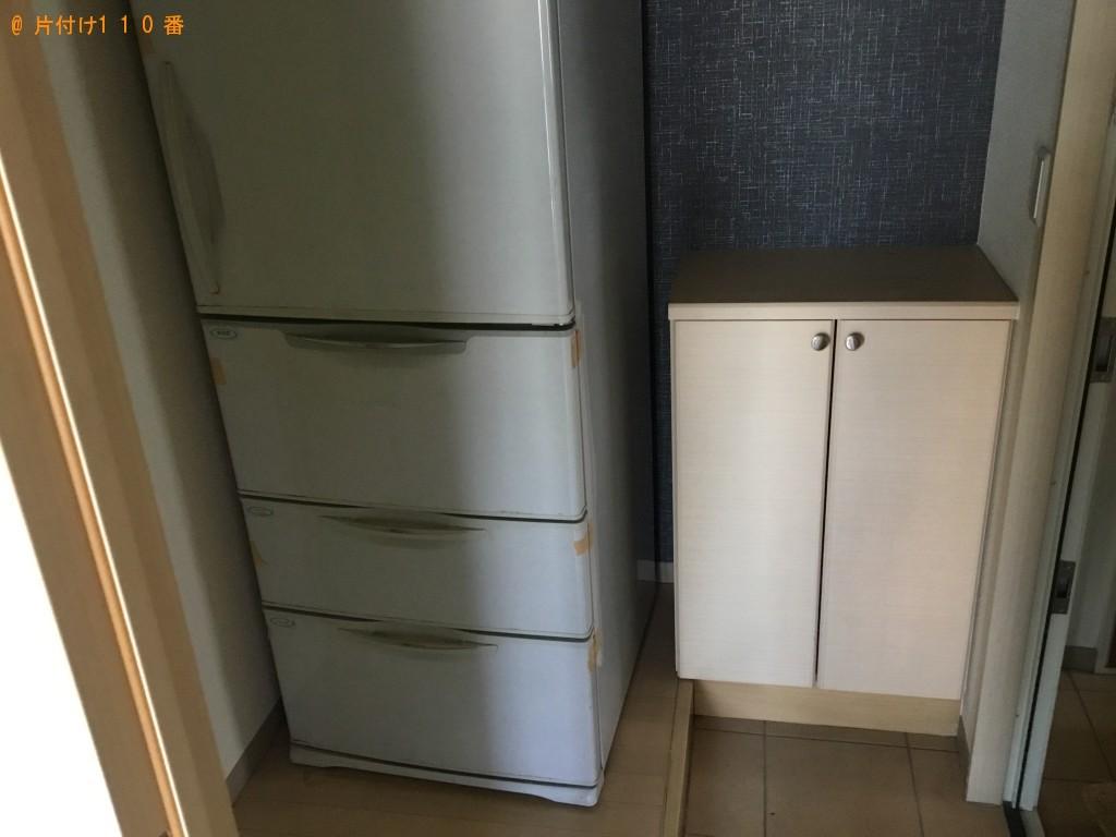 【諫早市】遺品整理に伴い冷蔵庫、洗濯機、本棚、食器棚等の回収・処分ご依頼