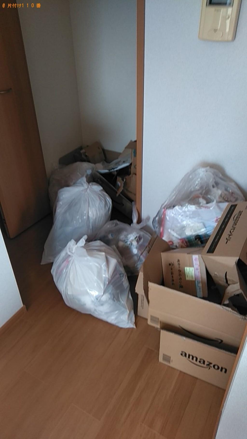 【長崎市】家庭ごみ、ダンボールの回収・処分ご依頼 お客様の声