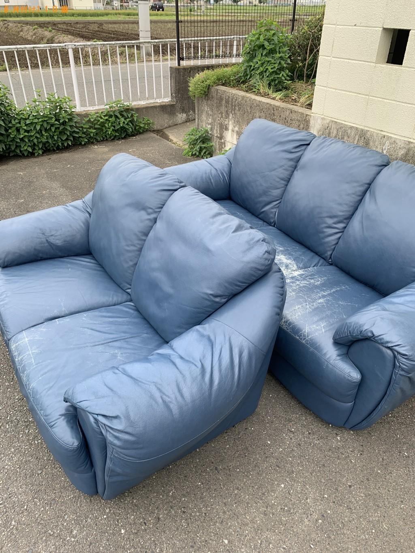 【長崎市】革製のソファーの回収・処分ご依頼 お客様の声