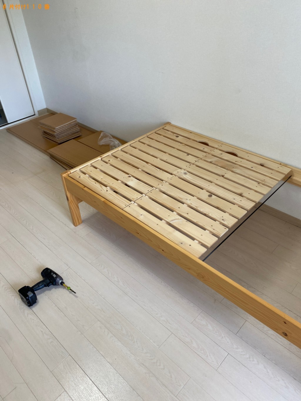 【長崎市】本棚、シングルベッドの回収・処分ご依頼 お客様の声