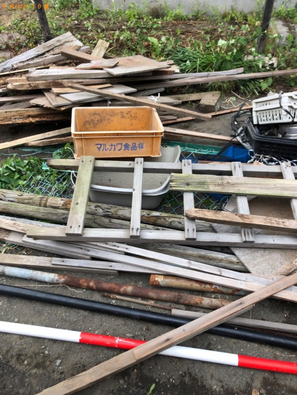 【長崎市】タンス、木材、鉄パイプ等の回収・処分ご依頼 お客様の声