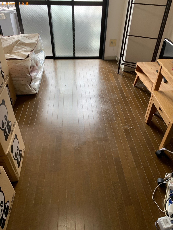 【長崎市】シングルベッド(マットレス付)の回収・処分ご依頼