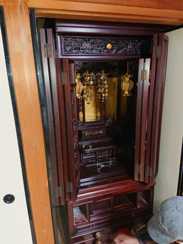 【長崎市】仏壇の回収・処分ご依頼 お客様の声