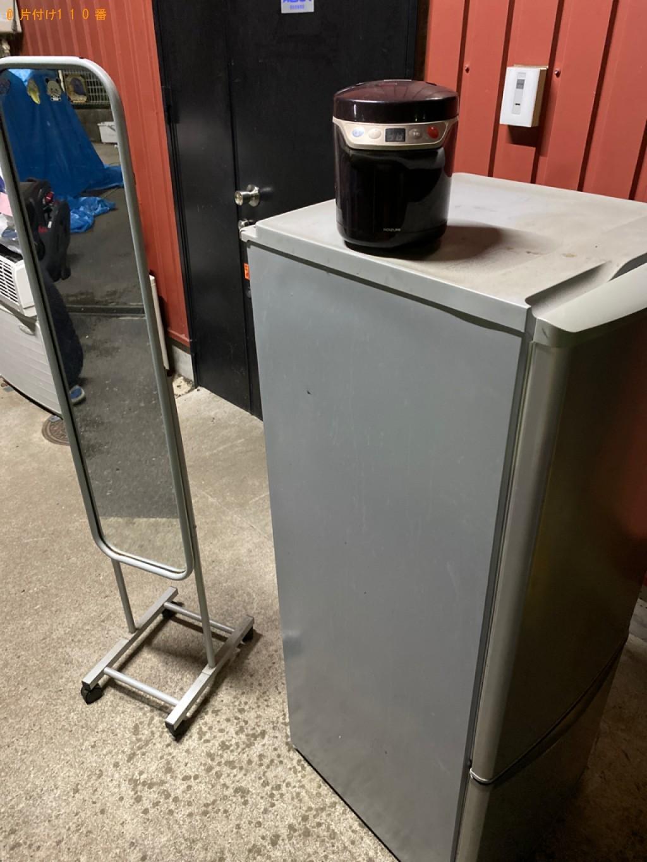 冷蔵庫、スタンドミラー、小型家電の回収・処分ご依頼