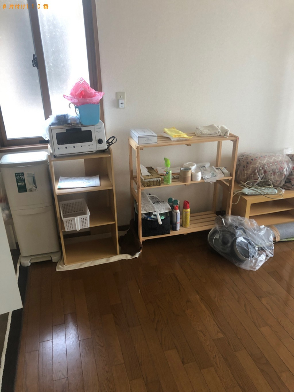 【長崎市】食器洗い乾燥機、カラーボックス、ガスコンロ等の回収