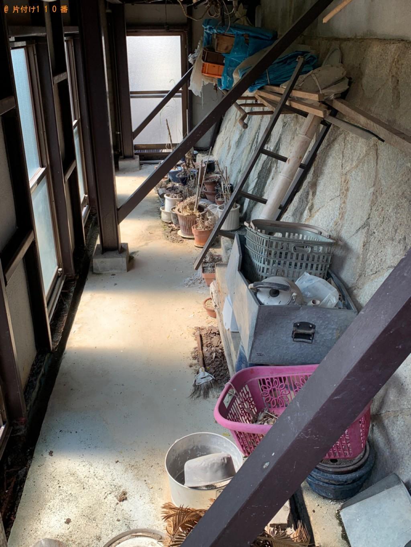 【長崎市】植木鉢、鉄くず、プラスチックごみ等の回収・処分ご依頼