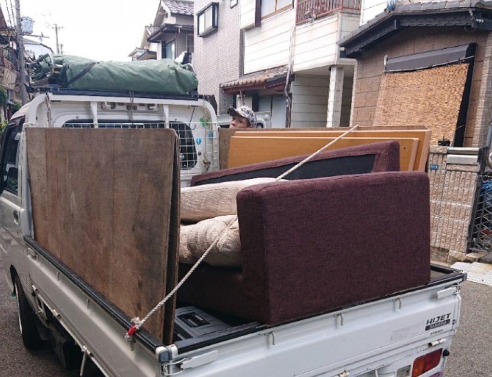 【長崎市】こたつ、ガラステーブル、ソファーの回収・処分ご依頼