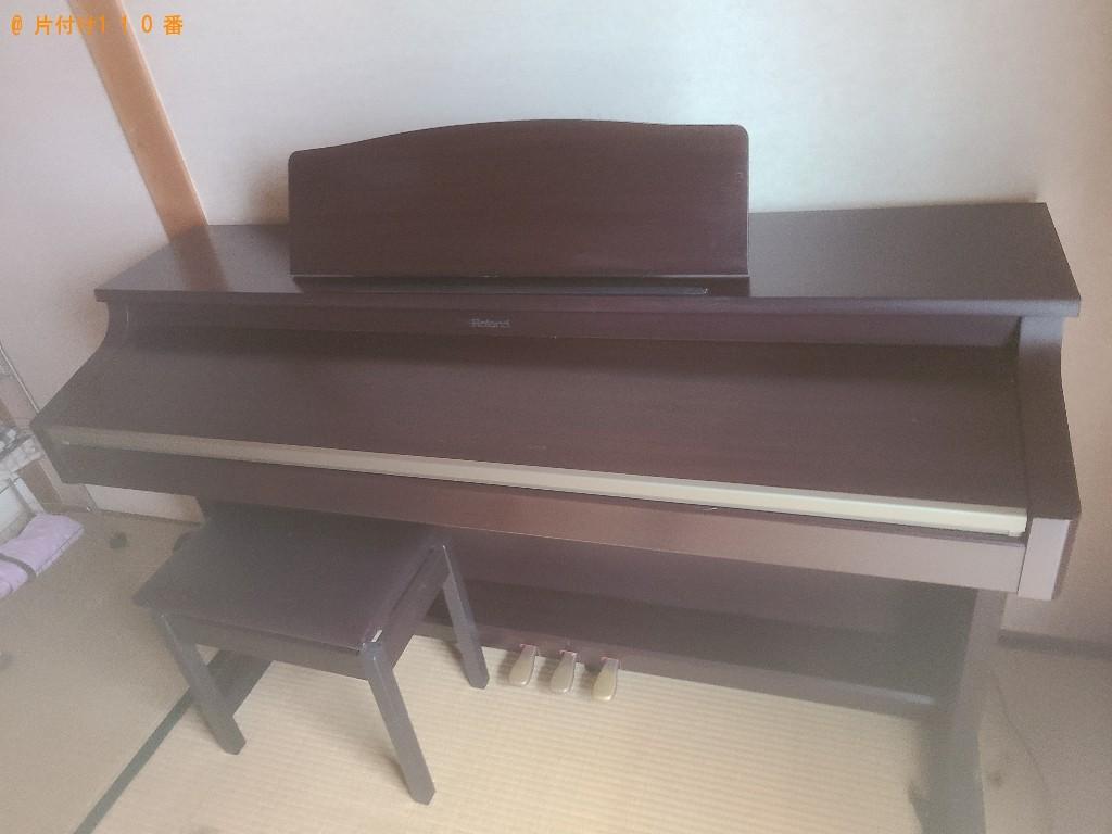 【長崎市】電子ピアノの回収・処分ご依頼 お客様の声