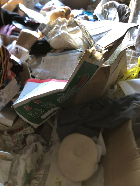 【長崎市】大量の一般ごみの回収・処分と荷物の運搬のご依頼