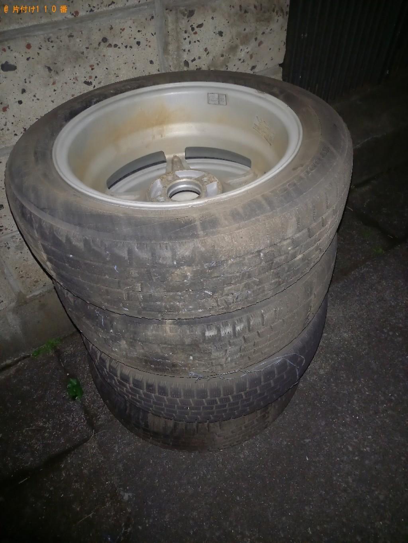 【長崎市】自動車タイヤの回収・処分ご依頼 お客様の声
