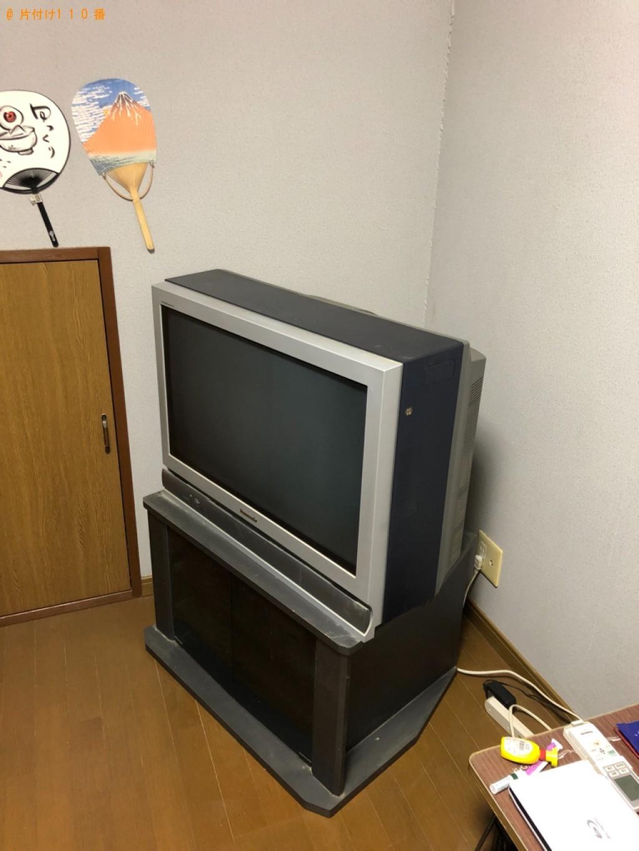 【長崎市】テレビの回収・処分ご依頼 お客様の声