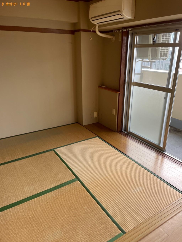 【長崎市】冷蔵庫、洗濯機、折り畳みベッド、カラーボックス等の回収