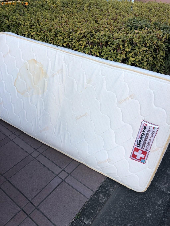 【長崎市】シングルベッドマットレスの回収・処分ご依頼 お客様の声