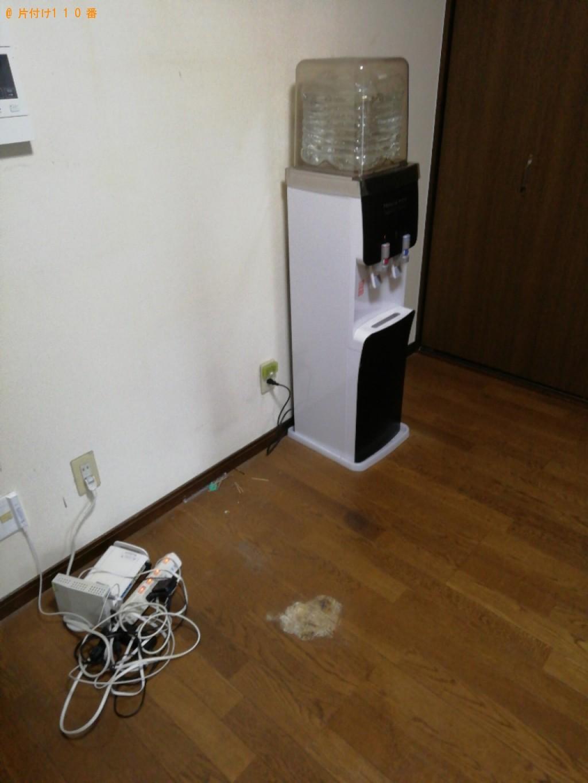 【大津市】食器棚、椅子、ラック、電子レンジ、ガスコンロ等の回収
