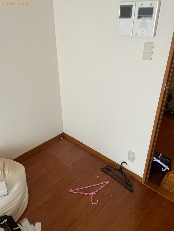 【長崎市】冷蔵庫、洗濯機、レンジ台、布団、電子レンジ等の回収