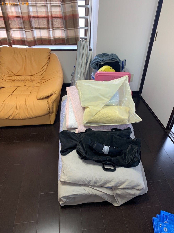 【長崎市】エアコン、洗濯機、シングルベッドマットレス等の回収